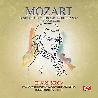 Mozart - Koncert na skrzypce & orkiestrę nr 5 w import USA Major K [CD]