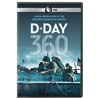 D-Day 360 [DVD] USA import