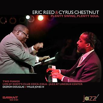 Eric Reed & Cyrus Chestnut - masser Swing masser sjæl [CD] USA import