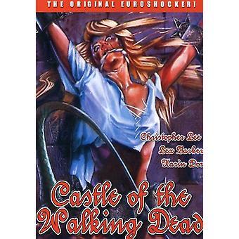 Slottet Walking Dead [DVD] USA importerer