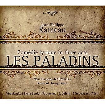 Rameau / Virovlansky / Surdu / Junghanel - Les Paladins [CD] USA import