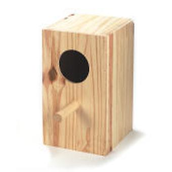 Arquivet Vertical Wood Nest Lovebirds