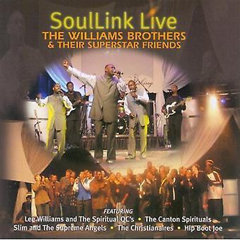 Williams brødre & Superstar venner - Soullink Live [CD] USA importerer