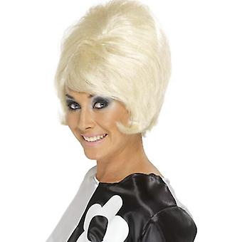 50s 60s wig short hair of sixties hippie wig