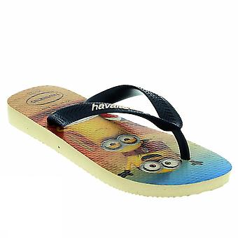 Havaianas kids minions 4133126 8009Beigenavy young sea shoes