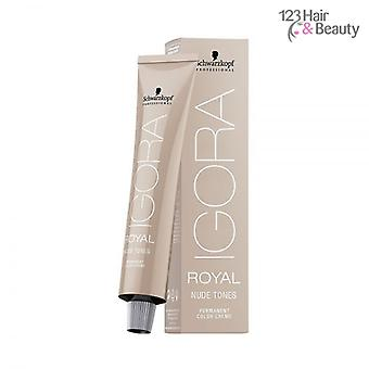 Schwarzkopf Igora Royal Nude tinten 60ml - 4/46 Medium bruin Beige chocolade