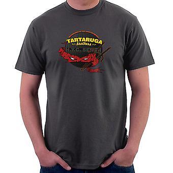Tartaruga brødre Teenage Mutant Ninja Skildpadder Raphael mænd T-Shirt