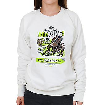 Alieyums Alien Cereal Women's Sweatshirt