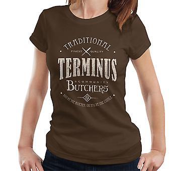Terminus Butchers Light Walking Dead Women's T-Shirt