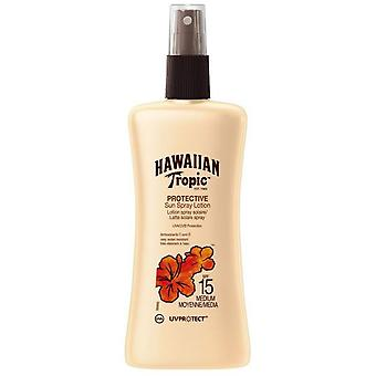 Hawaiian Tropic Ht Sun Protector Spray Lotion SPF 15