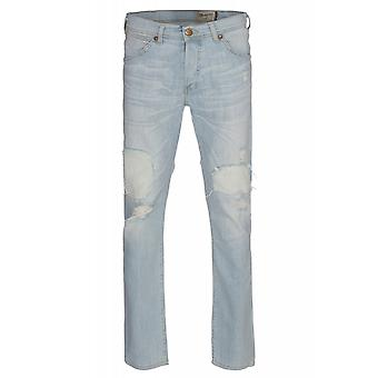 Wrangler boy tone trousers mens jeans light blue W16E-92-84 G