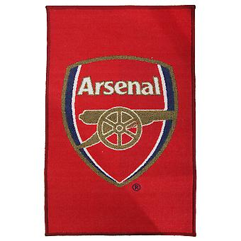 Arsenal FC Official Printed Football Crest Rug/Floor Mat
