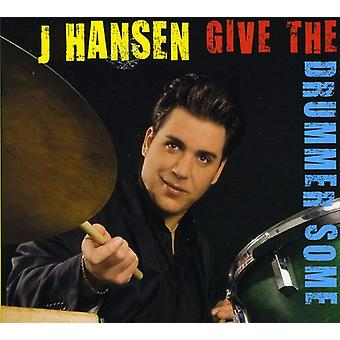J. Hansen - Give trommeslager nogle [CD] USA import