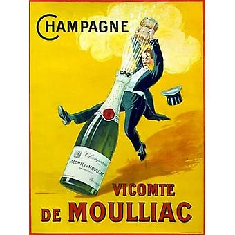 Champagne Poster Print (22 x 28)