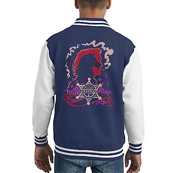 Fable Wolf Among Us Fabletown Sheriff Kid's Varsity Jacket