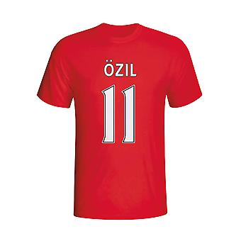 Mesut Özil Arsenal-Held-T-Shirt (rot) - Kids