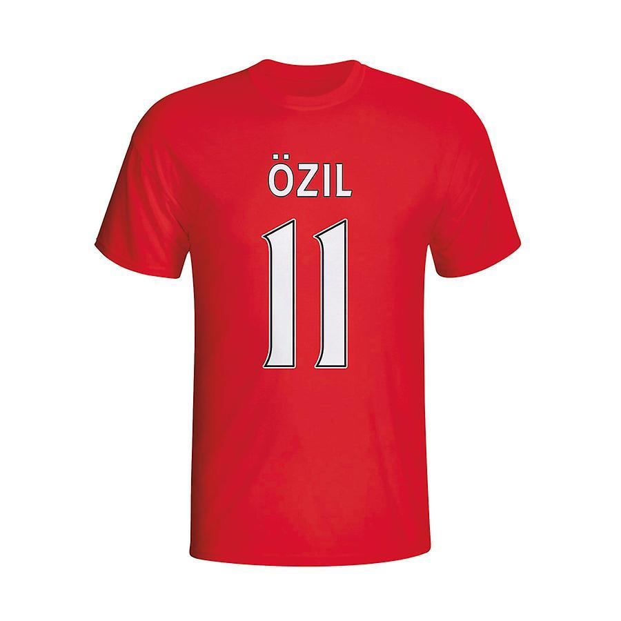 Mesut Özil Arsenal Hero T-shirt (rood) - Kids
