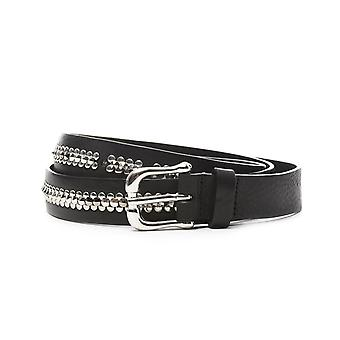 Eleventy women's 980CI0008CIN2001222 black leather belt