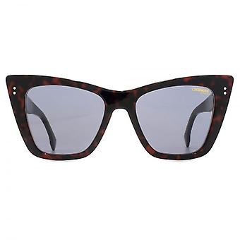 Carrera 1009 Cateye Sunglasses In Dark Havana