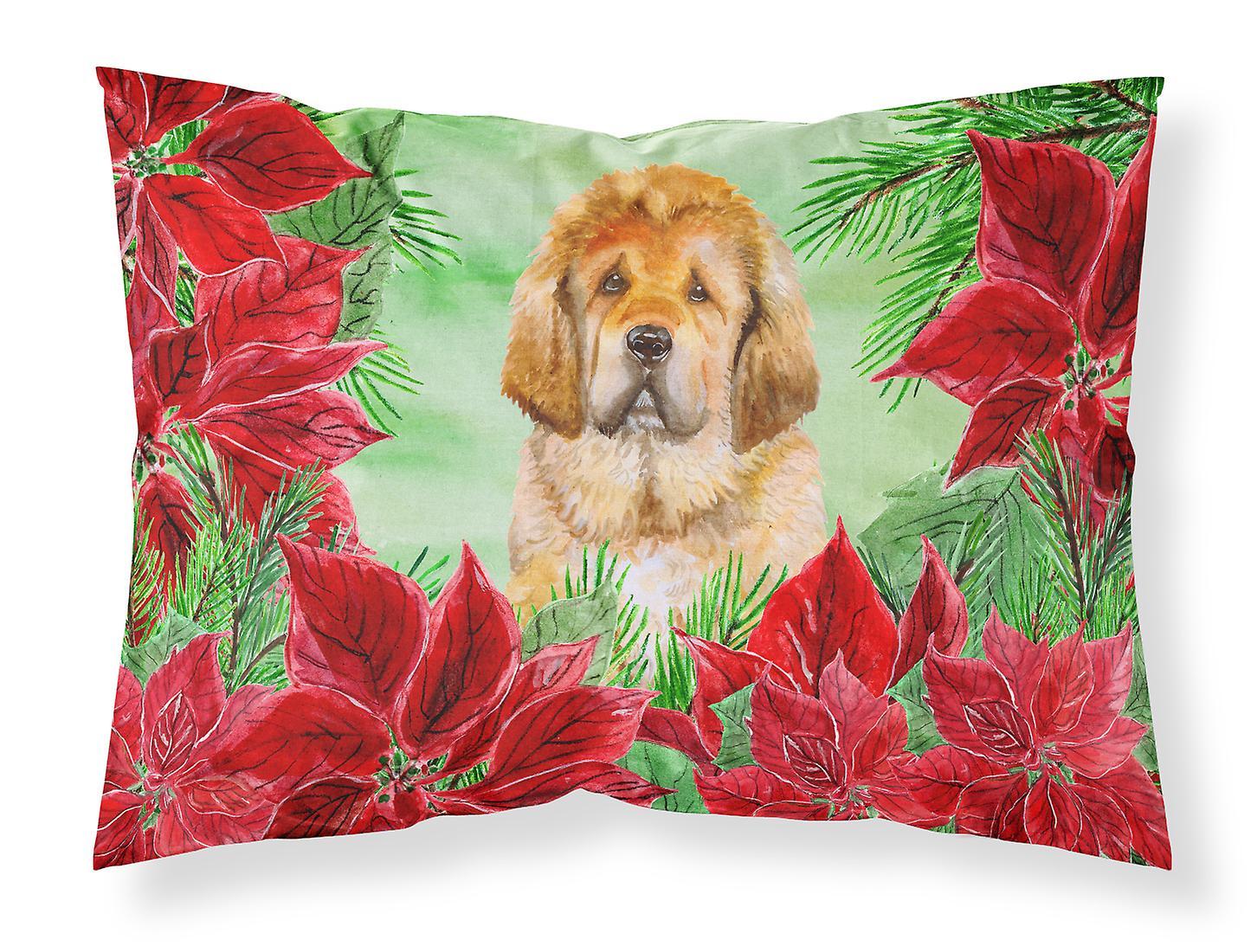 Standard Du Dogue Tissu De Taie D'oreiller Poinsettias Tibet n0m8vNw