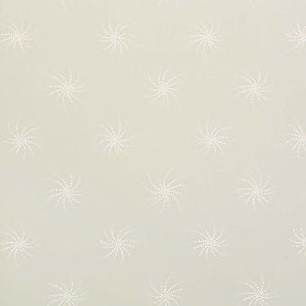 Sanderson Green Wallpaper Roll - Floral Starlight Design - Colour: DOPTST110
