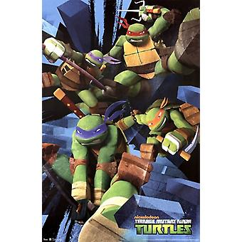 Teenage Mutant Ninja Turtles - Attack Poster Print