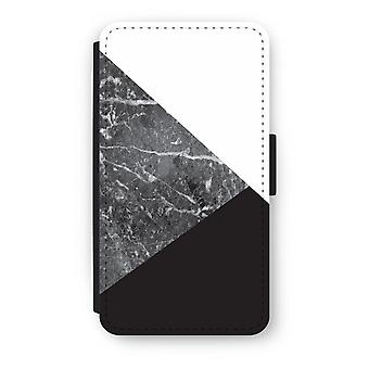 Samsung Galaxy A3 (2016) Flip Case - marmor kombinasjon