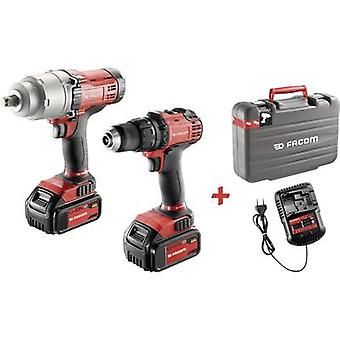 Facom CL3.CP18SPB Cordless drill, Cordless impact driver 18 V 5 Ah Li-ion incl. spare battery, incl. case