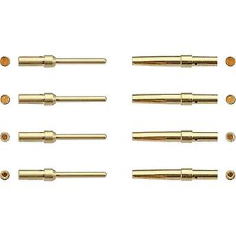 Connector pin AWG (min.): 24 AWG max.: 20 Gold plated