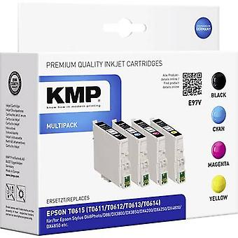 KMP Ink replaced Epson T0611, T0612, T0613, T0614 Compatible Set