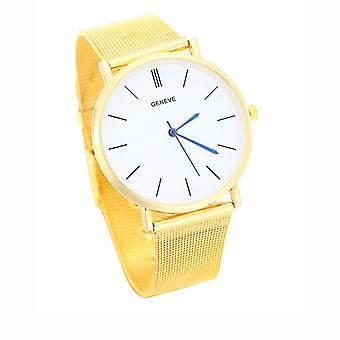 Slim Thin Gold Tone Geneve Watch