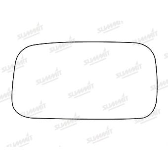 Left Stick-On Mirror Glass Easy to Fit For Nissan ALMERA Hatchback 95-00