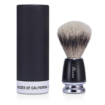 Baxter Of California Baxter Badger Hair Shave Brush - Silver Tip (Black) 1pc