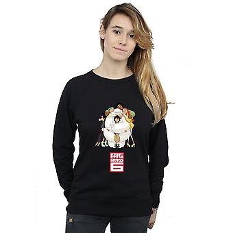 Disney Women's Big Hero 6 Baymax Hug Sweatshirt