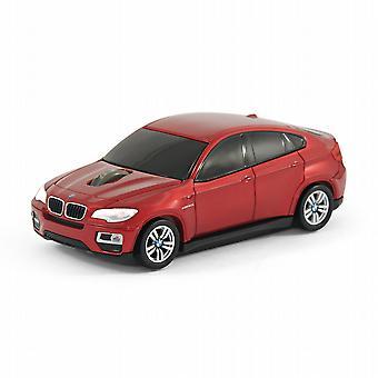 Offizieller BMW X 6 Auto drahtlose Computer-Maus - rot