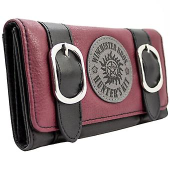 Supernatural Winchester Bros Hunters Kit Coin & Card Tri-Fold Purse