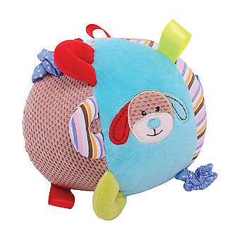 Bigjigs Toys Soft Plush Bruno Activity Ball Sensory Newborn Baby Gift Cot