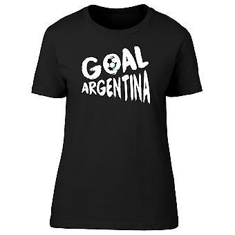 Goal Argentina Soccer Ball, 2018 Women's T-shirt