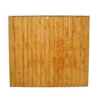 Forest Garden 5ft Featheredge Fence Panel
