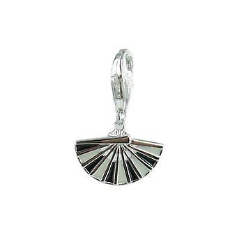 Esprit Anhänger Charms Silber Lady Fan Pave ESZZ90625A000