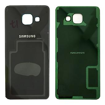 Samsung GH82-11020B battery cover cover for Galaxy A5 2016 A510F + adhesive pad black