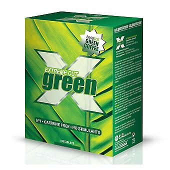 Gold Nutrition Extreme Cut Green 100 Ttablets (Diet , Supplements)