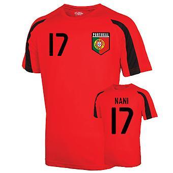 Portugal Sports Training Jersey (nani 17) - Kids