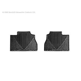 WeatherTech All-Weather Trim to Fit Rear Rubber Mats (Black)