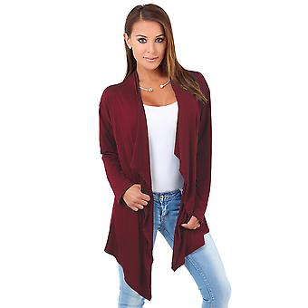 KRISP Jersey Waterfall Cardigan