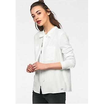 Tom tailor Longsleeve slip blouse grinding blouse in ecru Gr. L