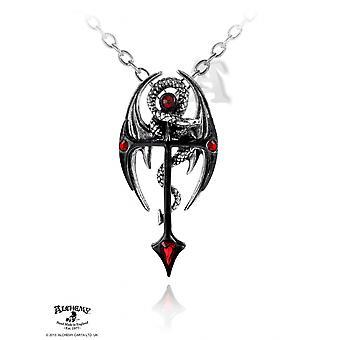 Alchemy Gothic Draconkreuz Lampa wisząca