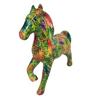 Banchiere cavallo fortunato verde