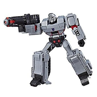 Transformers Toys Megatron Cyberverse Ultimate Class Action Figure - Repeatable Fusion Mega Shot Action Attack Move - Toys for Kids 6 and Up, 11.5-inch