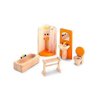 Salle de bains Pintoy maison de poupées